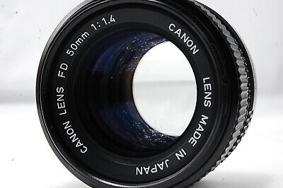 Canon NEW-FD 50mm F1.4 Lens  SN3146115