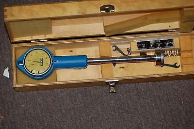 Vintage Hemco Dial Bore Gage Gauge 52-540-201 Made In England