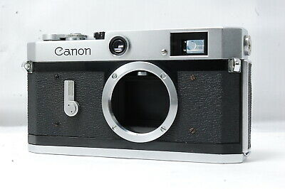** Not ship to USA **  Canon P 35mm Rangefinder Film Camera Body Only SN768603