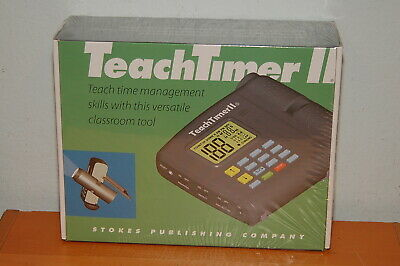 Teach Timer II 228 Versatile Classroom Tool Projector Digital Stokes Publishing - Class Room Timer