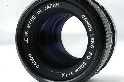 Canon NEW-FD 50mm F1.4 Lens  SN6556589