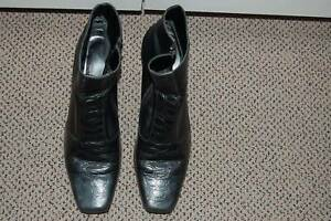 Laura Benini Custom made Black Ladies Boots Size 9  Ankle Zeehan West Coast Area Preview