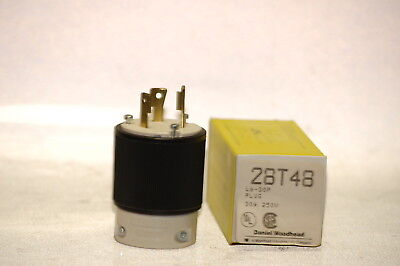 Nib Daniel Woodhead 28t48 Safeway Turnex Plug L6-30p - 30 A 250 V