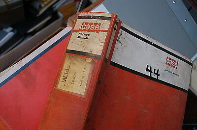 Case W14 Articulated Front End Wheel Loader Repair Shop Service Manual Overhaul