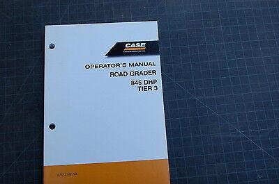 Case 865 Dhp Tier 3 Motor Grader Owner Operator Maintenance Manual Road 2006 Oem
