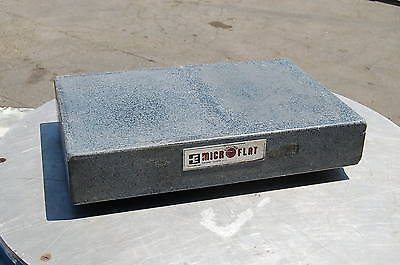 Collins Esterline Granite Precision Machinist Inspection Surface Plate18x12x3