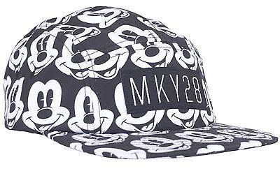 Mickey Mouse X Neff  Mky28 5 Panel Camper Hat Disney
