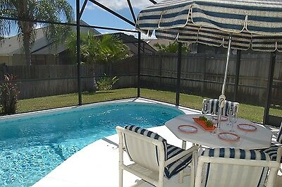 141 3 Bed Florida vacation home private fenced pool Kissimmee near Disney 2015 for sale  Shipping to Canada