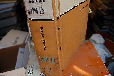 Case W14b Front End Wheel Loader Repair Shop Service Manual 1986 Overhaul Book