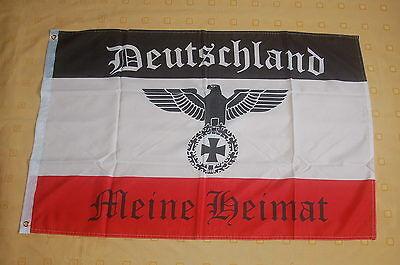 Deutschland  Meine Heimat Adler Fahne Flagge Hißflagge Hißfahne 90 x 60 cm