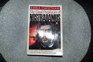 The Final Prophecies of Nostradamus      by Erika Cheetham Zeehan West Coast Area Preview