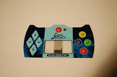 Ocean Optics Jaz Spectrometer Control Button Assembly Face Pad - Brand New