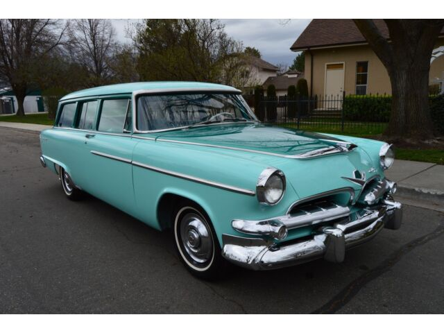 Gorgeous restored very rare 2 door wagon 1955 dodge for 1955 dodge coronet 4 door