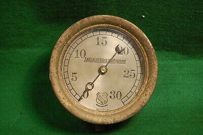 5 516 Vintage Pressure Gauge American Radiator Ashcroft Steampunk Industrial