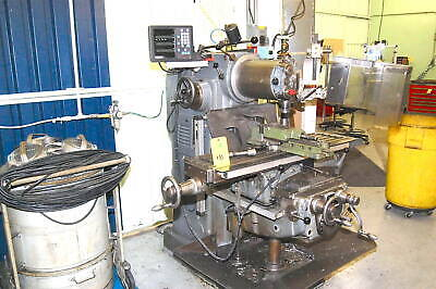 Schaublin Vertical Milling Machine Type 53 Universal Head Dro Tooling Galore