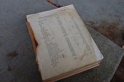 Caterpillar M20 M25 Mc30 Forklift Parts Manual Book Catalog Spare List Towmotor