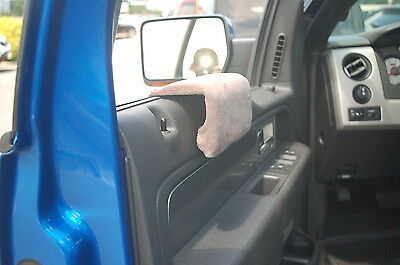 ██ ARM SAVER SILVER ARMREST,window truck,car arm rest,pad,  ON (Arm Saver Armrest Pad)