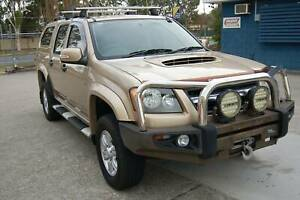2009 HOLDEN COLORADO LX TURBO DIESEL 4X4 MANUAL D/CAB 251,781 K'S Clontarf Redcliffe Area Preview