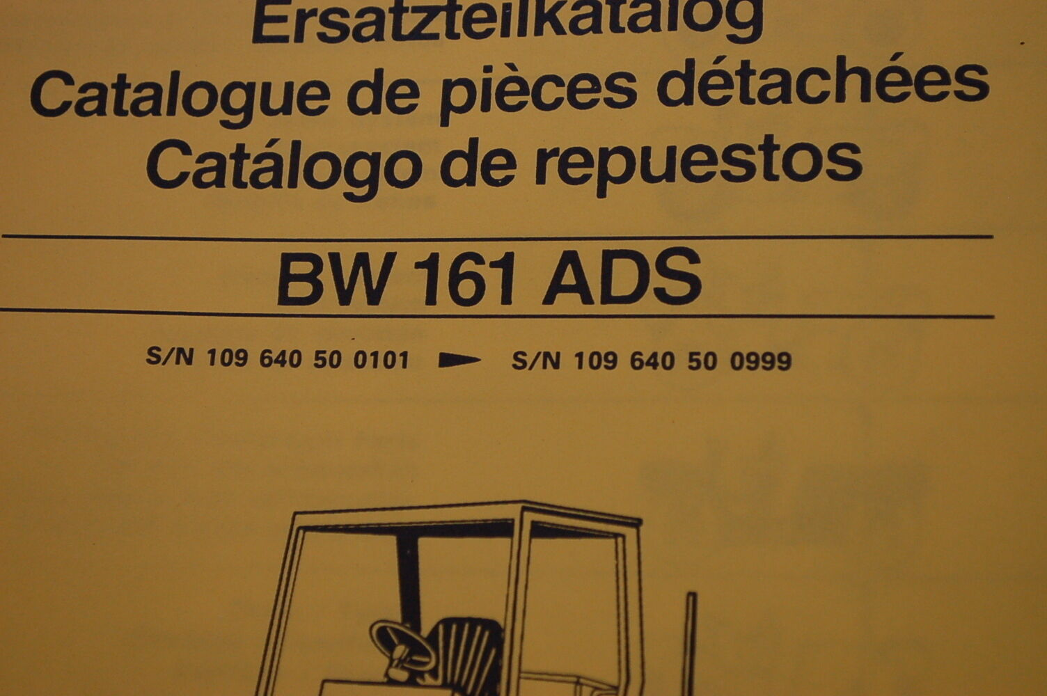 ... BOMAG BW 161 ADS Roller Compactor Parts Manual book catalog spare list  index 2 of 4 BOMAG BW 161 ...