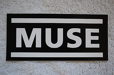 Muse Sticker Decal (S431) Rock Oasis Coldplay Depeche Mode Car Window Bumper