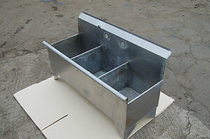 ... Small-Bar-3-Compartment-Stainless-Steel-Sink-Restaurant-Commercial-Mop
