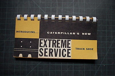 Cat Caterpillar Tractor Dozer Track Shoe Service Sales Brochure D6 D7 D8 D9 Book