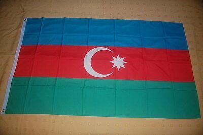 Aserbaidschan Flagge Fahne Hißflagge Hissfahne 150 x 90 cm