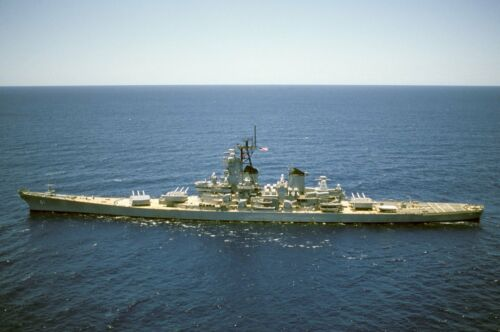 Giant 1/144 Scale USS Iowa (BB 61) Battleship Plans and Templates