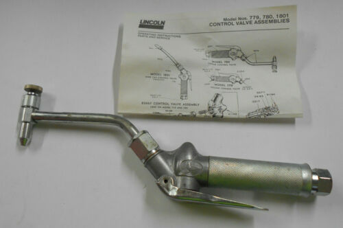 """Lincoln Industrial #780 Oil Control Valve Assembly 1/2"""" NPTF Rigid Pipe"""