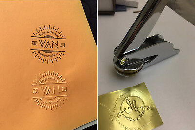Custom Made logo stamp wedding invitations Embossing Letter paper Press seal - Custom Made Invitations