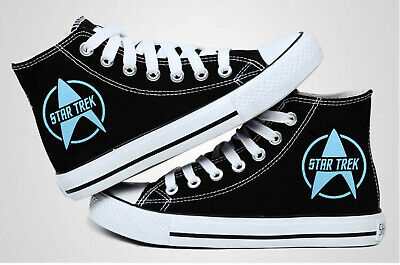 hot new Anime Star Trek canvas Shoes Casual High Gang Canvas Sneakers