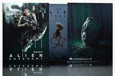 Alien  Covenant  2017   Blu Ray   Limited 700   Steelbook  Full Slip Box