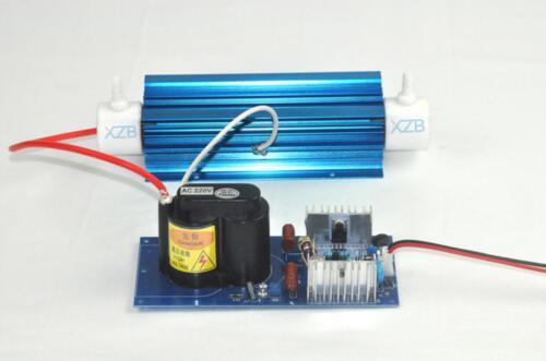 Ozone generator accessories power supply + tube Quartz tube 7g/H AIR-COOLED