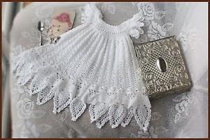 Celestial-Christening-Gown-Dress-Crochet-Pattern-Sizes-Baby-NB-12-mos-Baptism