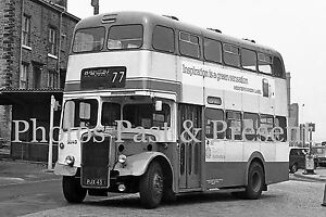 West Yorkshire PTE Leyland Titan, PJX43, Halifax, destination Bradford, Photo