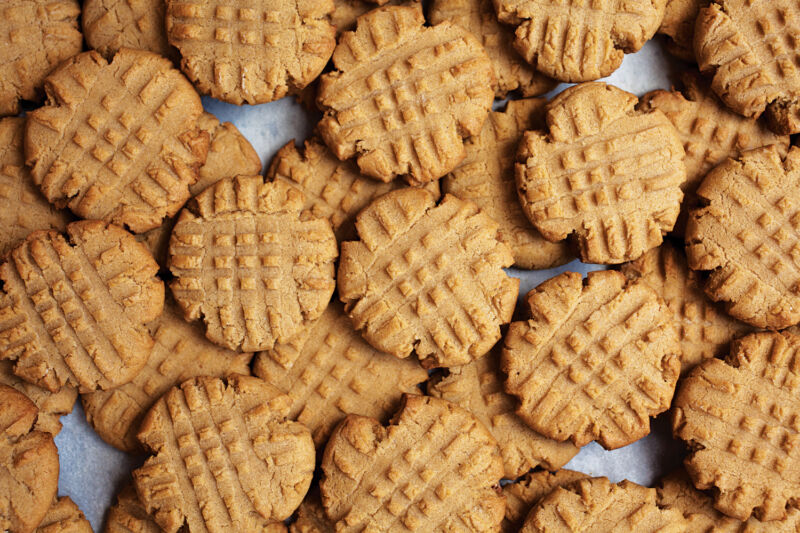 Peanut Butter Cookies 48 HOMEMADE to Order Delicious Shipped Fresh 1934 recipe