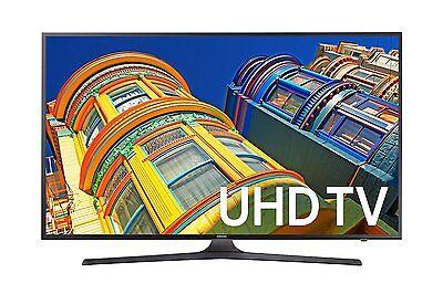 Samsung UN43KU6300 43-Inch 4K UHD 60Hz 120 CMR LED HDTV with built-in Wi-Fi