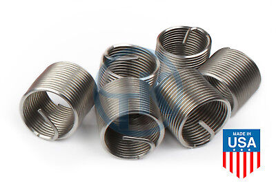 Stainless Steel Helicoil Thread Insert 7//16-14 x 1.5 Diameter Qty-100