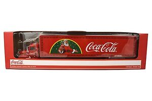 Coca Cola Christmas Light-up LED Die-Cast Truck