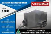 Fully Enclosed Trailer With Nosecone at the Front - 8x5 Epping Whittlesea Area Preview