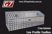 Low Profile Aluminium Toolbox with angled lid ute tool box New Brisbane City Brisbane North West Preview