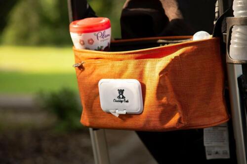 Stroller Organizer Baby Shower GIFT Storage Carriage Bag Buggy W/ Wipes Dispense
