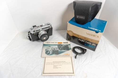 YASHICA ELECTRO 35 GSN 35mm FILM CAMERA - needs service for electronics