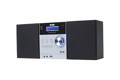 Stereoanlage mit CD, DAB+ Radio, Bluetooth, AUX In, USB ROXX MC401 silver/black