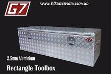 Rectangle Aluminium Toolbox for utes trucks trailers lock up Brisbane City Brisbane North West Preview