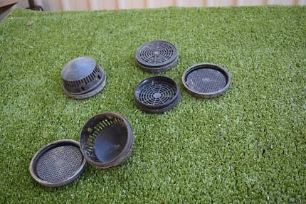 AIR VENTS FOR WORM FARM or COMPOST BIN,or  CUBBY, or KENNELetc