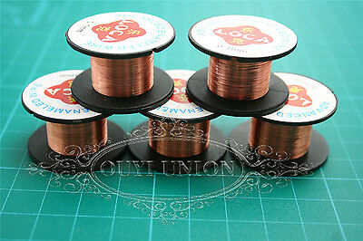 Lots 50pc 0.1mm 11.5mpc Thin Copper Enameled Wire Welding Fly Line Maintenance