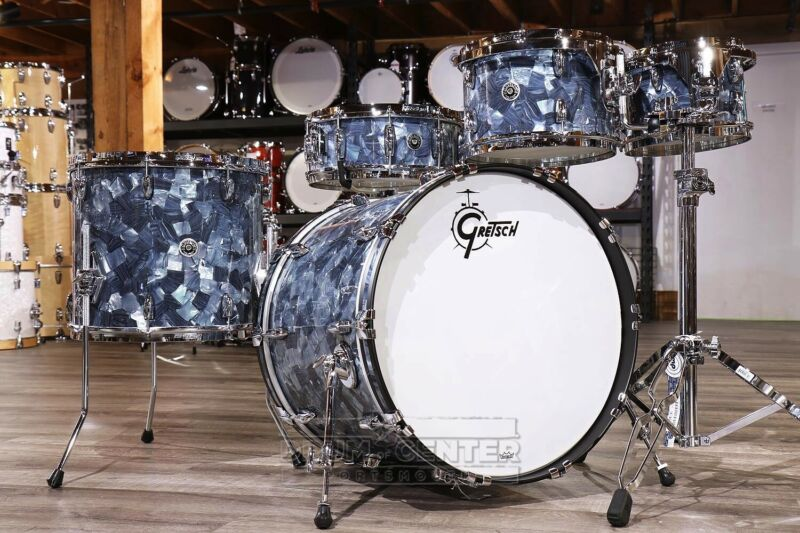 Gretsch Brooklyn 5pc Euro Drum Set Abalone