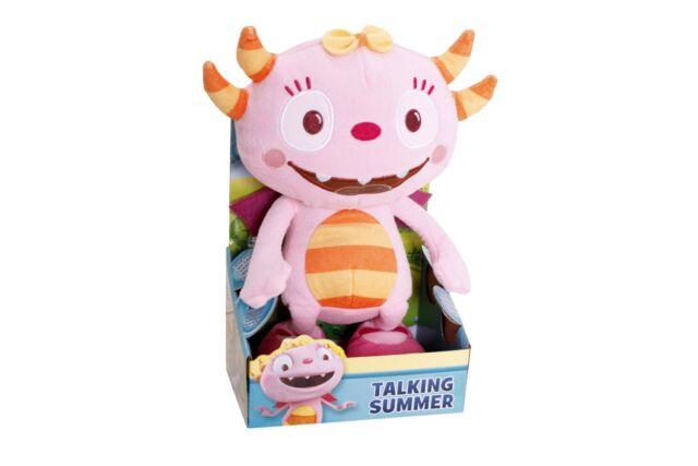 Henry Hugglemonster Talking Summer 25cm Soft Plush Stuffed Doll Toy