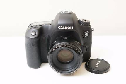 Canon 6D DSLR Camera with 50mm F1.8 II Lens ~Low Shutter Count